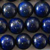 LAPIS LAZULI A-grade ~ 8mm Smooth Round Beads x 50