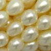 Freshwater Pearls ~ Oval 5-6mm WHITE x 65