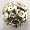 Alloy Metal Beads ~ 12mm Round x 20 pcs