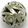 Alloy Metal Beads ~ Large 16mm Round x 5pcs