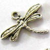 Alloy Metal Charms ~ 18x15mm Dragonfly x 20 pcs