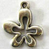 Alloy Metal Charms ~ 17x14mm Flower x 20 pcs
