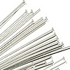 Sterling Silver Thin Headpins ~ 40mm x 20 pc