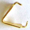 Triangle Bails ~ 7mm Gold Plated x 20 pcs
