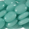 AMAZONITE ~ Puffy Oval 14x10mm Beads x 28