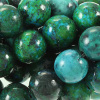 CHRYSOCOLLA ~ Smooth Round 10mm Beads x 40