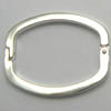 Oval Clips / Clasps 27x22mm x 5 pcs