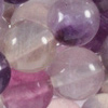 FLUORITE ~ Smooth Round 8mm x 30