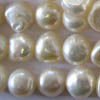 Freshwater Pearls ~ Irregular 7-8mm WHITE x 48