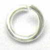 Jump rings THICK ~ 5mm Silver Plated x 100 pcs