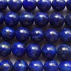 LAPIS LAZULI A-grade ~ 10mm Smooth Round Beads x 10