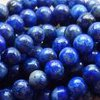 LAPIS LAZULI A-grade~ 4mm Smooth Round Beads x 95