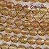 Fire-polished Faceted Round ~ 8mm LT COLORADO TOPAZ x 75