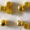 Crimps ~ Micro Crimps 1mm Gold x 200 pcs