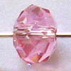 *BULK* Swarovski Rondell 5040 ~ 6mm LIGHT ROSE x 20 pcs