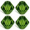 *BULK* Swarovski Bicone ~ 6mm FERN GREEN x 100 pcs